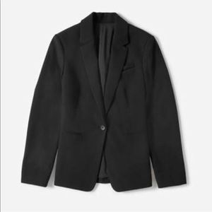 Everlane Black GoWeave Classic Blazer 00 Like New